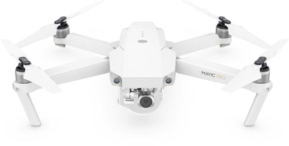 apple exclusively selling dji s mavic pro drone in limited edition alpine white combo