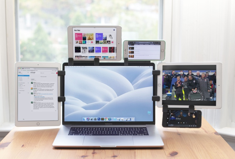 ten one design s new mountie lets you mount your ipad to your macbook as a second screen