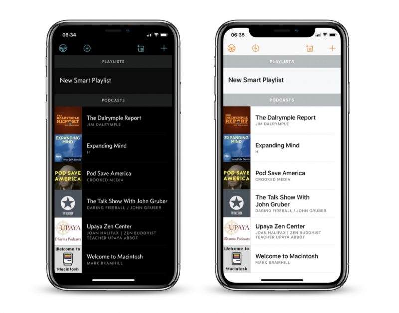 Overcast Podcast App Gains New 'Black' Dark Theme, End of Episode Sleep Timer, and More