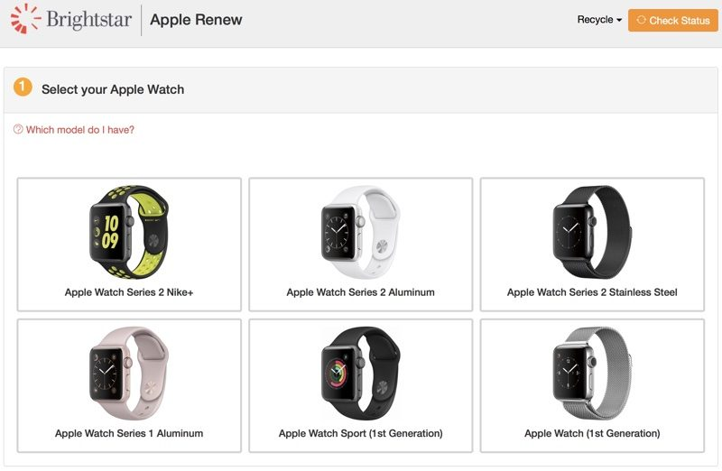 apple introduces new apple watch recycling program offering gift cards up to 175