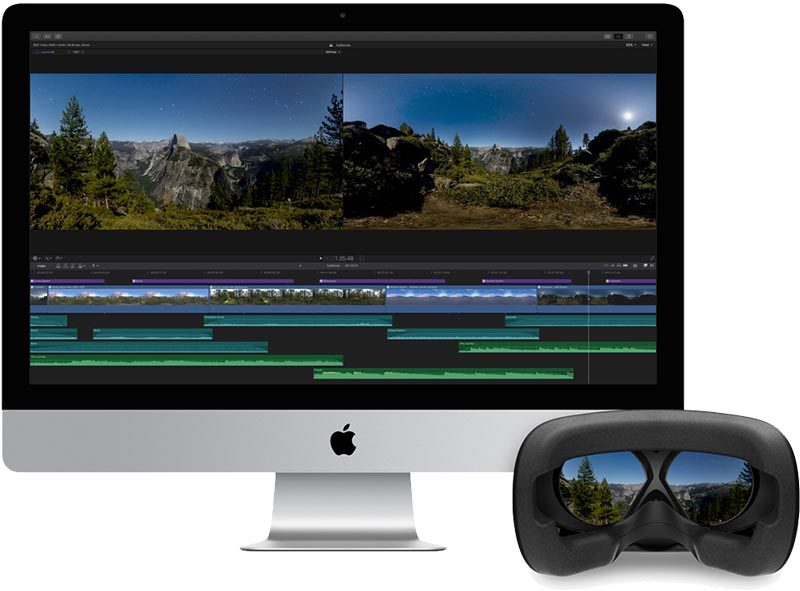 final cut pro x 10 4 launches with 360 vr video editing hdr and more as logic pro x and motion also updated