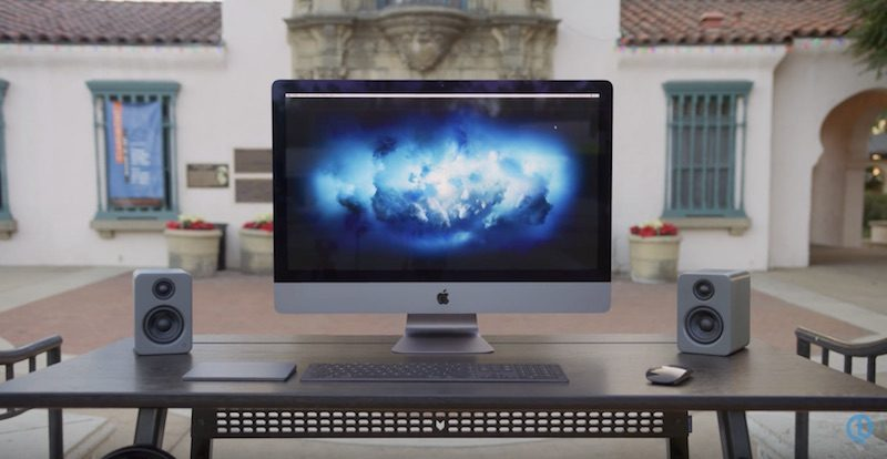 imac pro described as blazingly fast quiet and fairly priced but lacks upgradeability