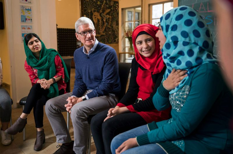 malala fund partners with apple s developer academies in brazil to advance education opportunities for girls