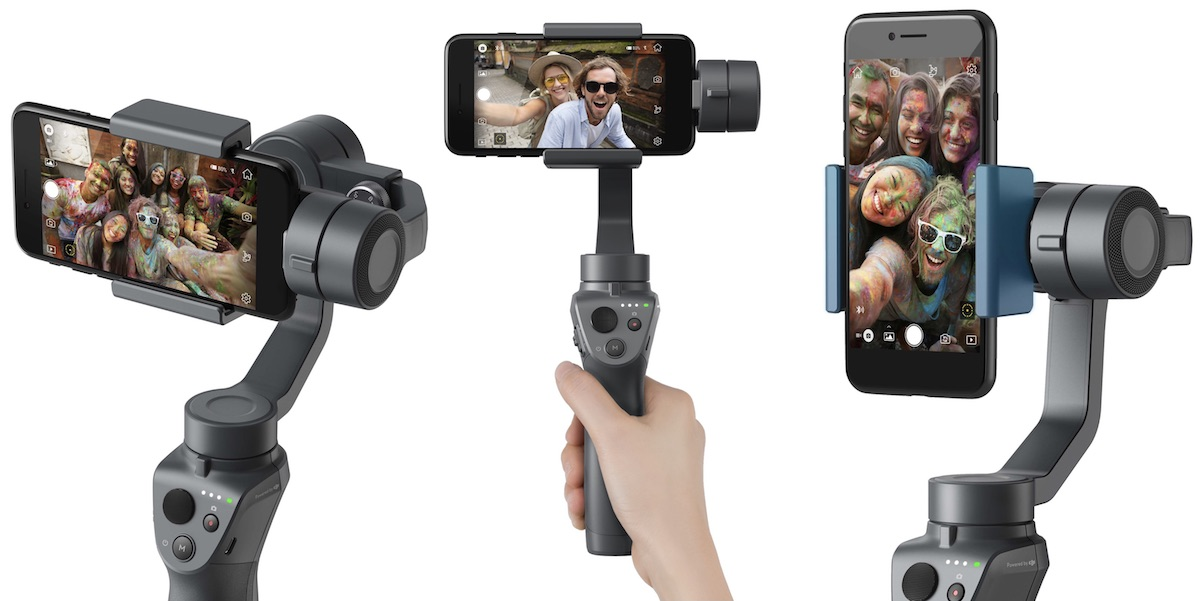 ces 2018 dji announces osmo mobile 2 with simpler controls and improved battery life