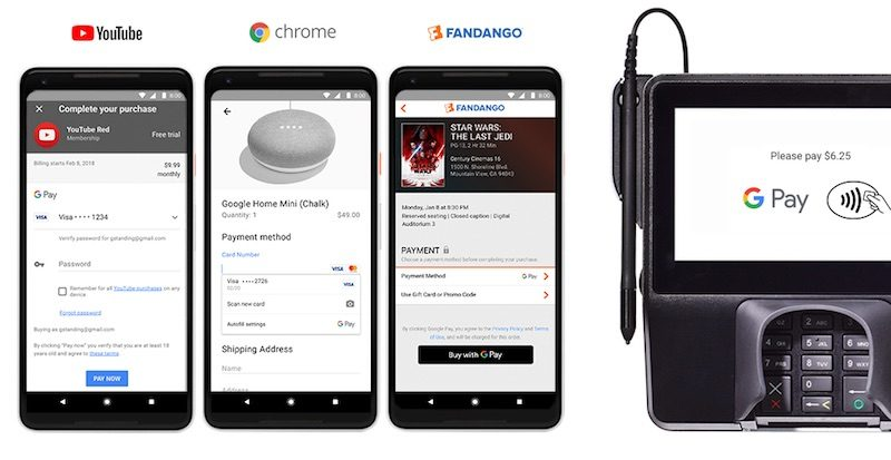 android pay and google wallet have merged to become google pay