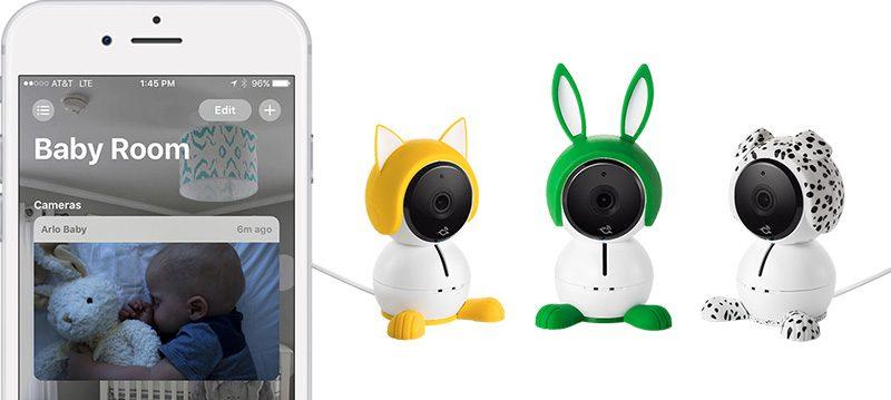 netgear s arlo baby smart cameras now offer homekit support