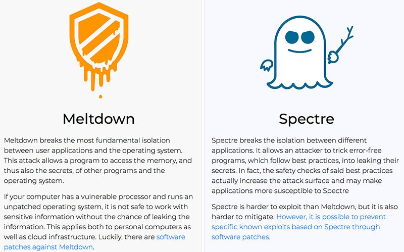intel didn t tell u s government about meltdown and spectre until vulnerabilities went public