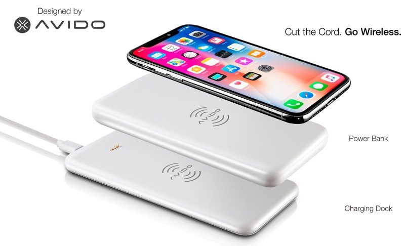 wiba power bank offers fully wireless solution for charging your iphone x 8 and 8 plus