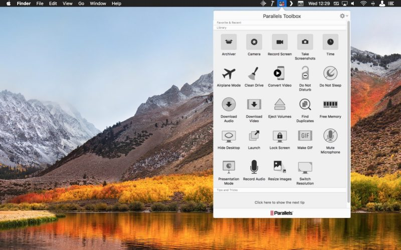parallels toolbox 2 5 for mac gains web page screenshot feature batch image conversion and more