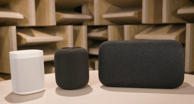 consumer reports google home max and sonos one sound better than homepod