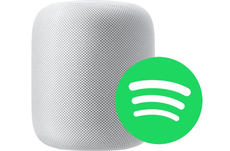 how to use spotify with homepod through airplay