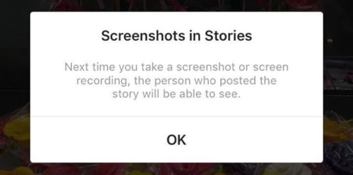 instagram testing feature that alerts users when you screenshot a story