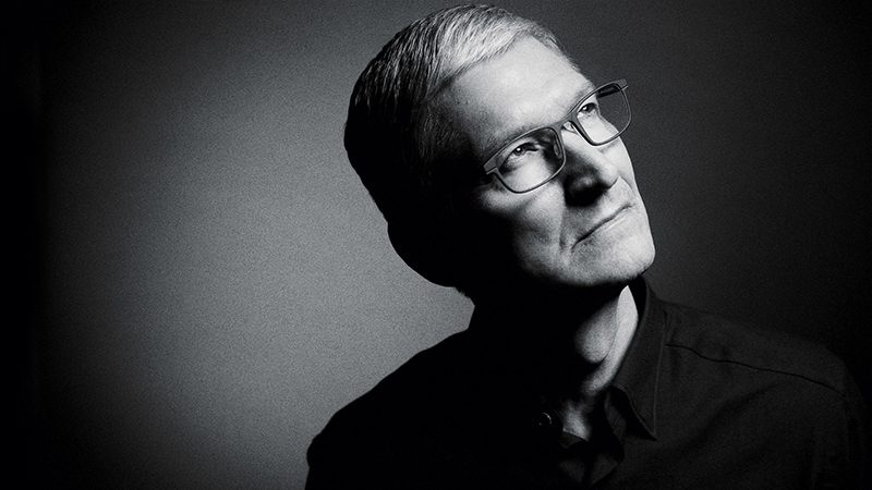 tim cook says apple is always focused on products and people over wall street expectations