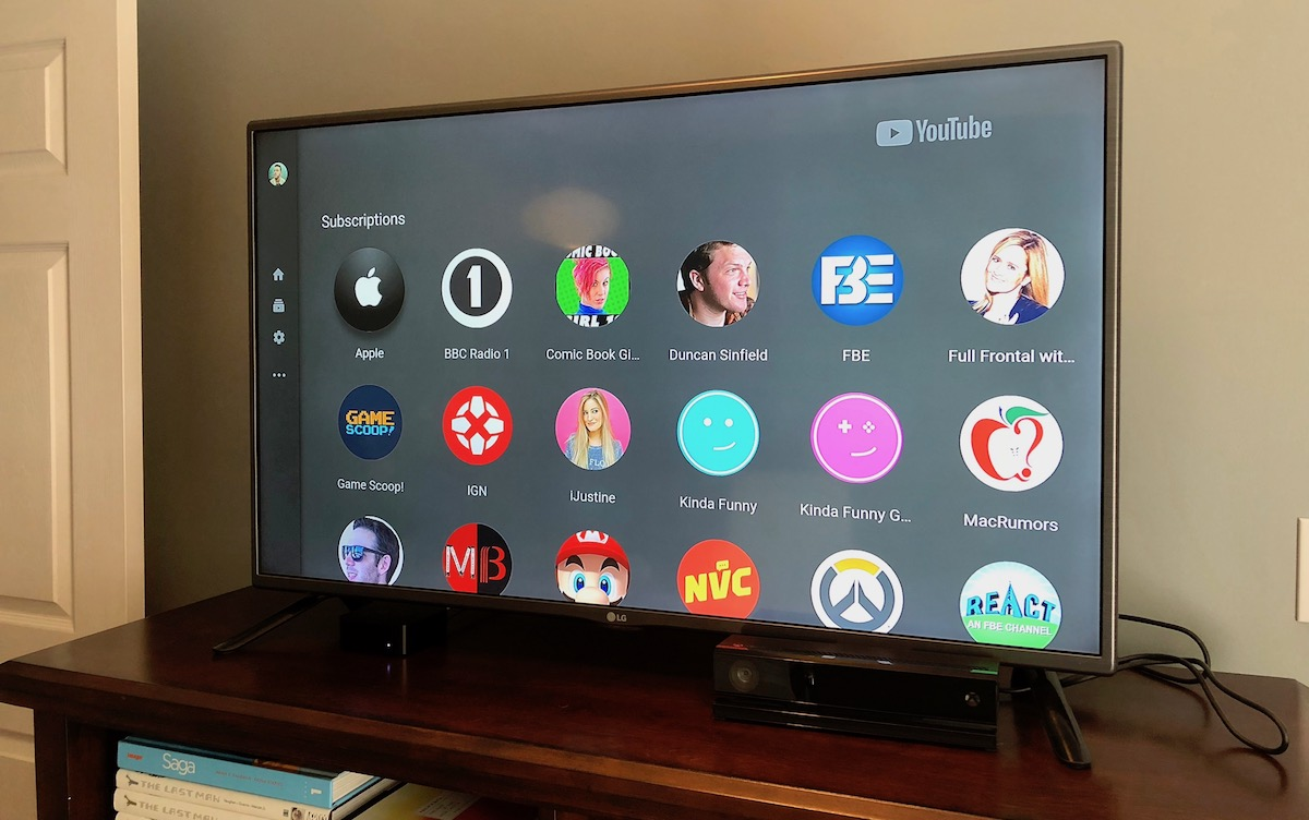 youtube app on apple tv updated following user complaints over subscriptions layout and more. Black Bedroom Furniture Sets. Home Design Ideas
