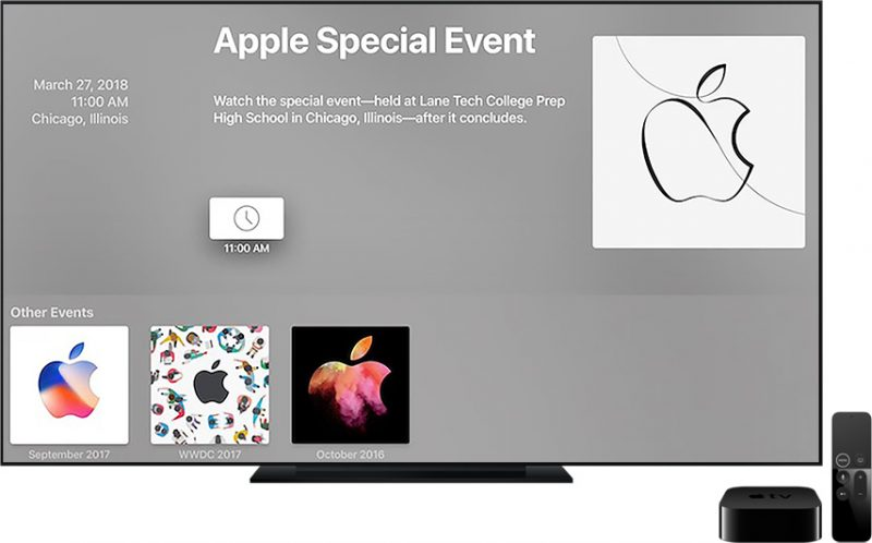 psa apple s march 27 event won t be live streamed