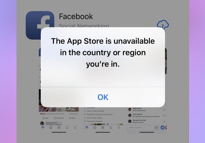 iphone users in iran now unable to access the app store