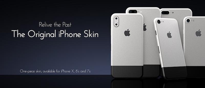colorware s latest skin makes an iphone x look like original iphone