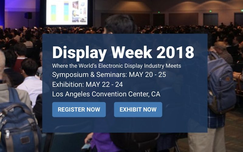 apple engineers to discuss ar vr display technology at display week in may