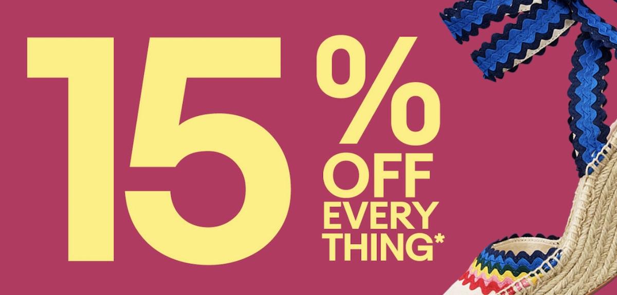 Ebay 15 discount coupon