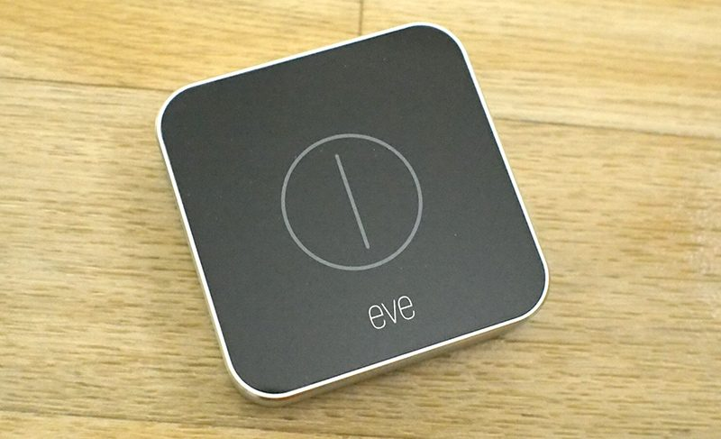 review eve button offers quick physical controls for activating your favorite homekit scenes