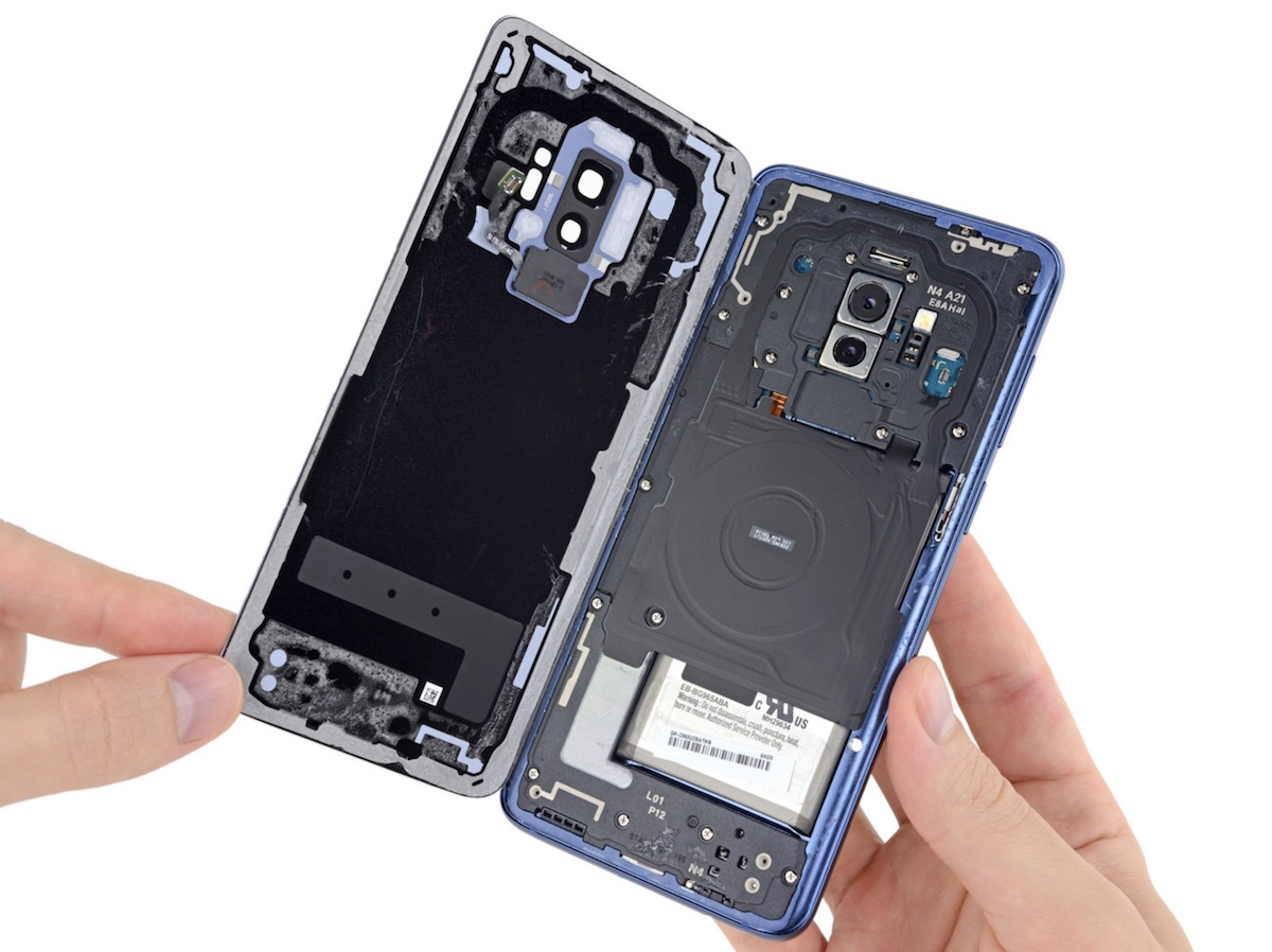 samsung galaxy s9 teardown reveals components for dual aperture camera and lower tech ar emoji