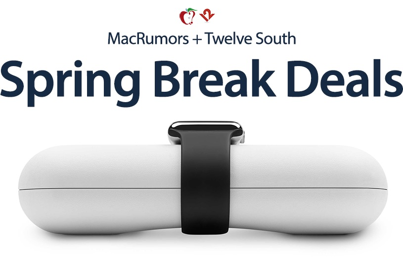 macrumors exclusive twelve south debuts spring break sale with discounts on travel accessories