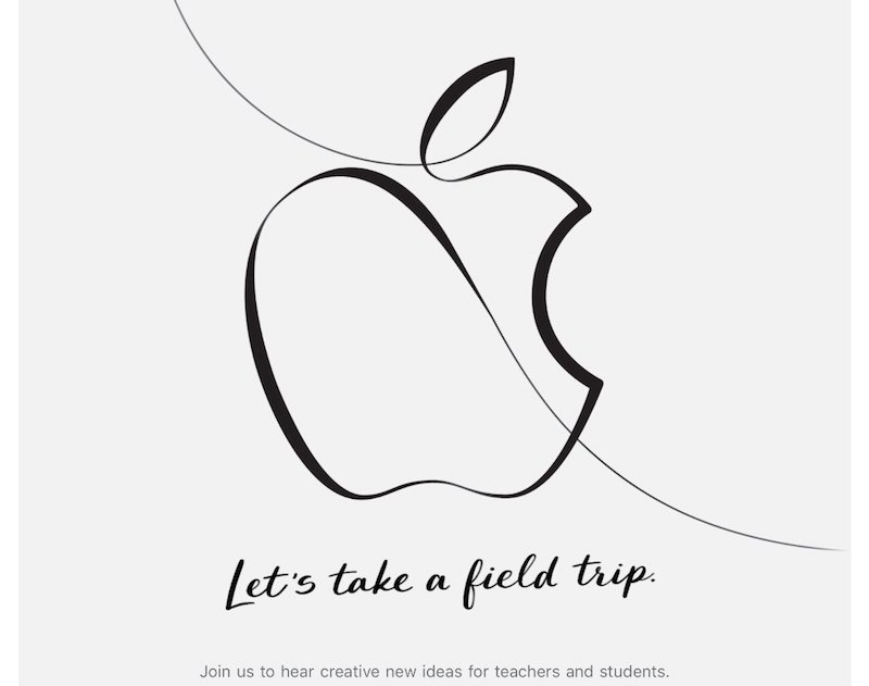 apple sends invites to march 27 event in chicago creative new ideas for teachers and students
