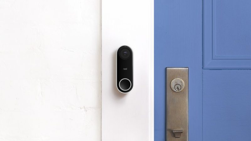 nest now shipping hello smart doorbell with night vision camera and two way audio