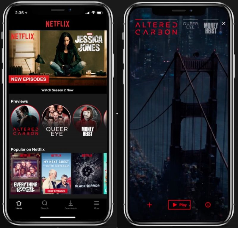 netflix to debut new vertical preview feature on mobile next month