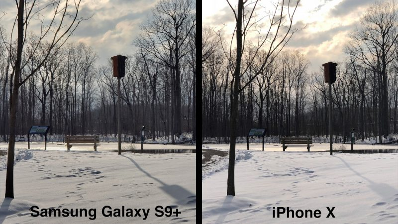 iphone x vs galaxy s9 which smartphone has a better camera