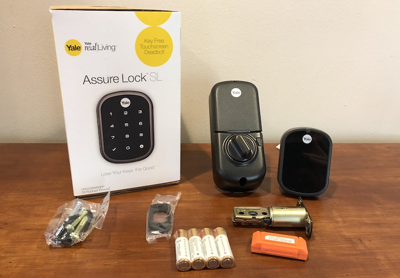 review yale s 220 assure lock sl is a sleek keyless homekit deadbolt