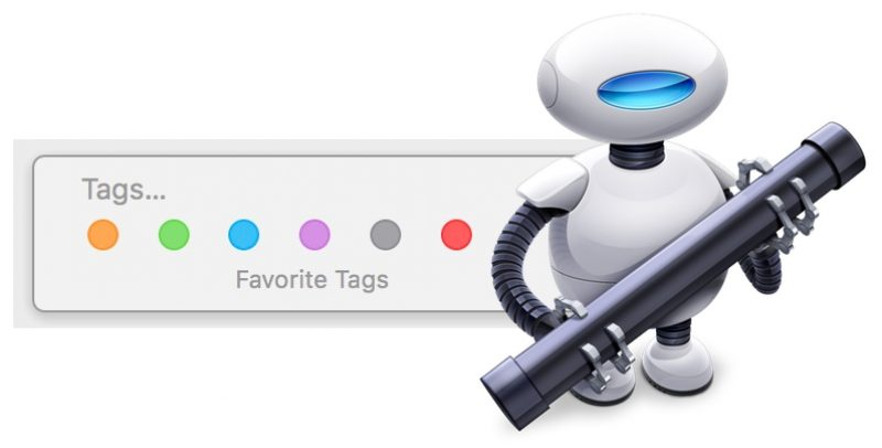 How to Apply Color Tags to Items in macOS Finder Using Custom Keyboard Shortcuts