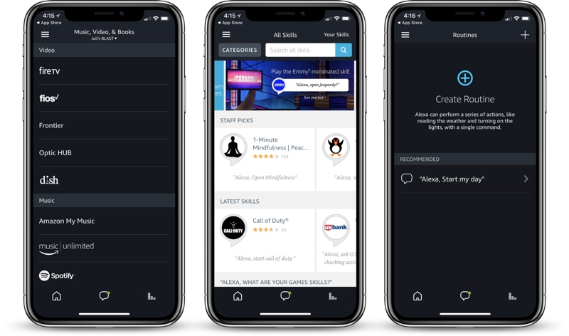 amazon s alexa app finally gains support for iphone x