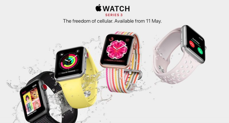 apple watch series 3 with lte to launch in denmark sweden india and taiwan next month