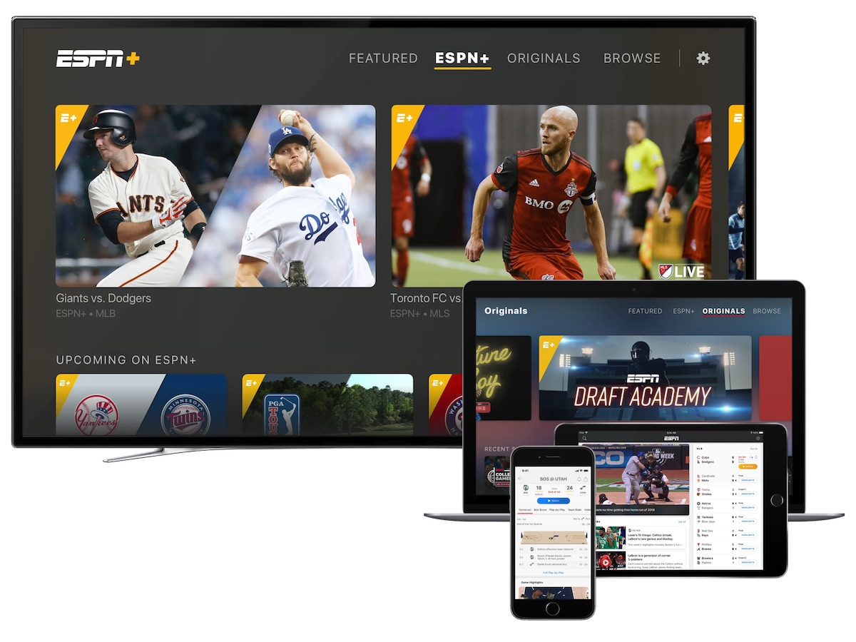 espn streaming service launches in redesigned espn app for iphone ipad and apple tv
