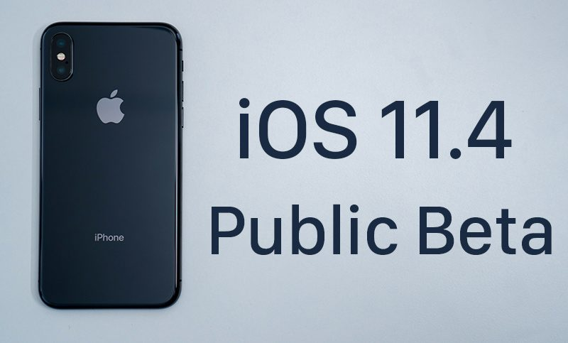 apple releases second beta of ios 11 4 for public beta testers