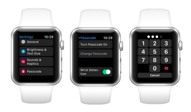 how to turn auto lock off on apple watch