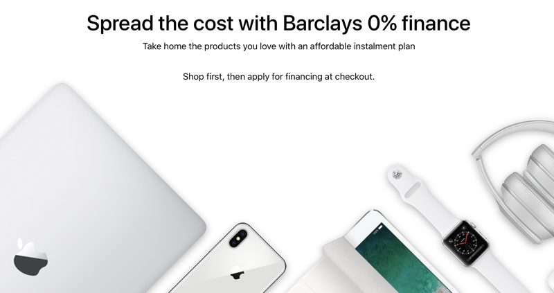 apple reintroduces financing options in the united kingdom