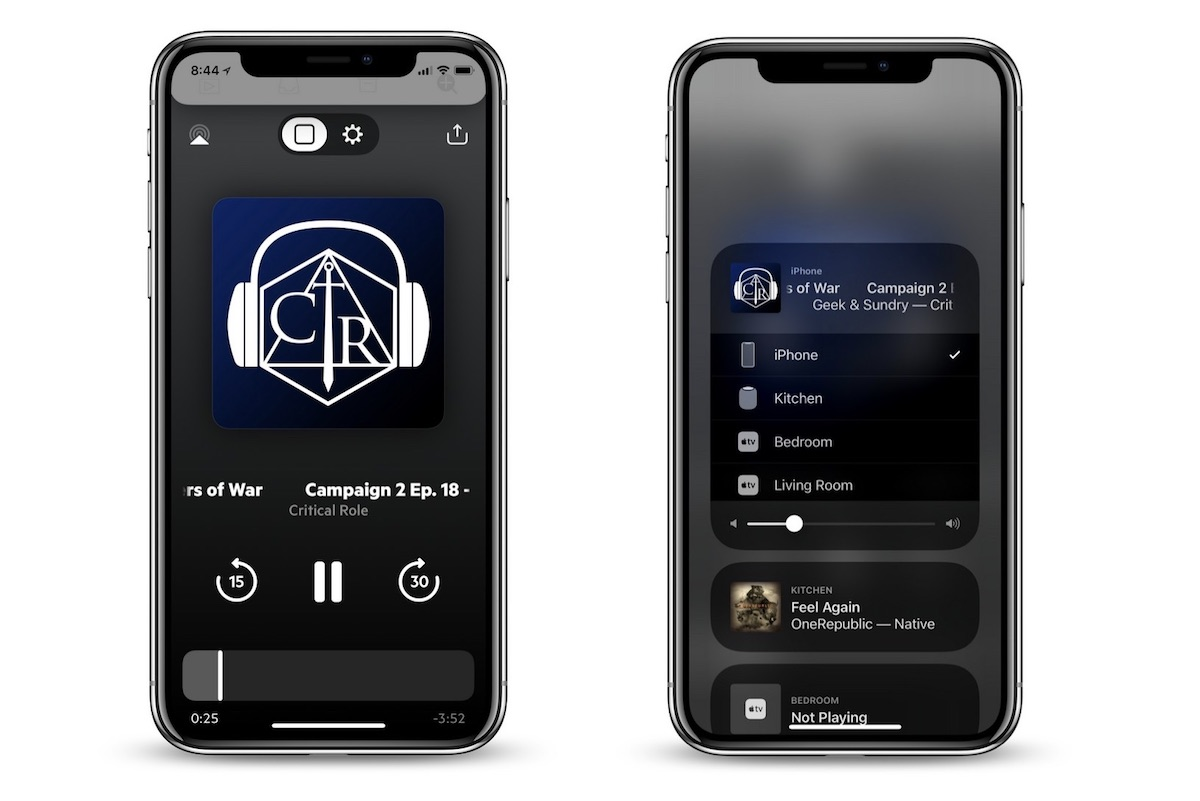 castro podcasts updates with quicker airplay controls cleaner layout apple watch app and more