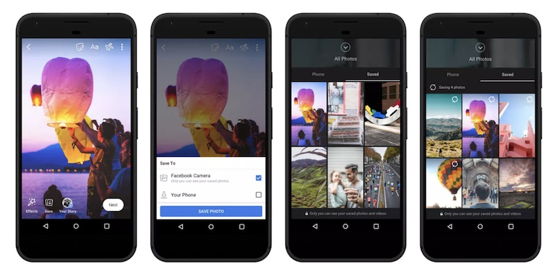 facebook to launch cloud storage feature for photos and videos taken with in app camera