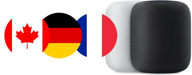 homepod can now read the news in canada france and germany where the speaker launches monday