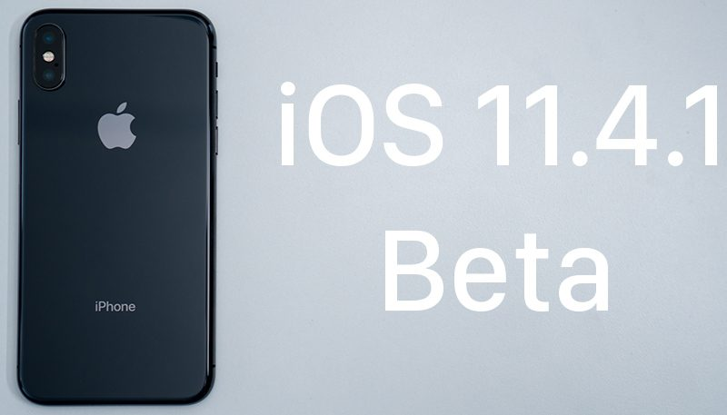 apple seeds second beta of ios 11 4 1 to public beta testers