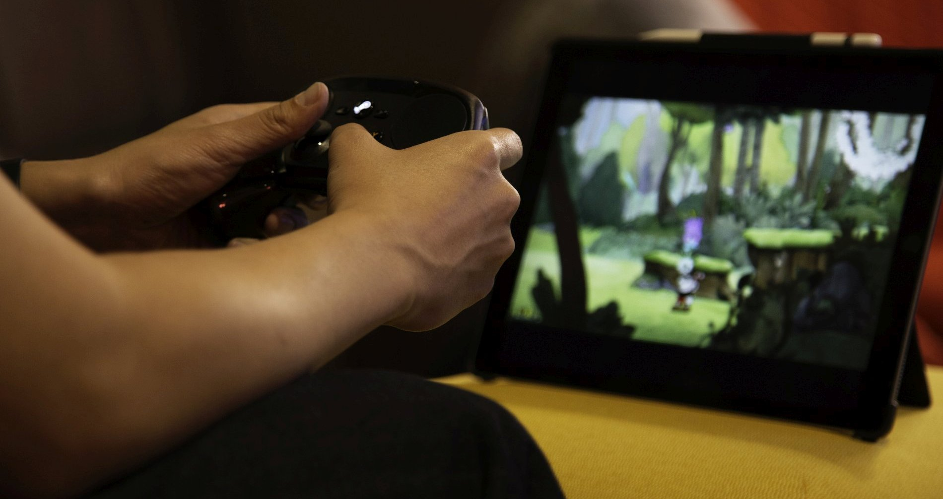 toucharcade goes hands on with valve s steam link app this is the killer app for ios devices