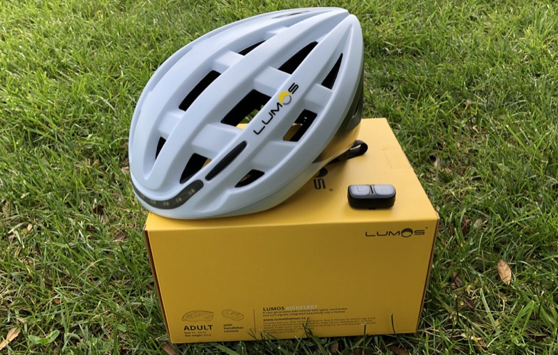 review lumos is a clever smart bike helmet with apple watch enabled turn signals