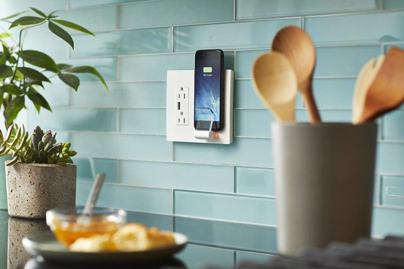 legrand launches wall mounted qi certified wireless charger compatible with latest iphones