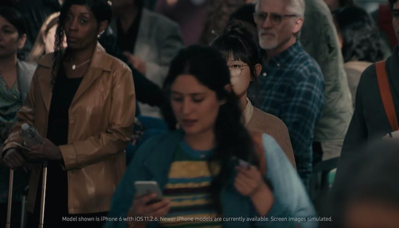 samsung compares galaxy s9 to very slow iphone 6 in frivolous ad