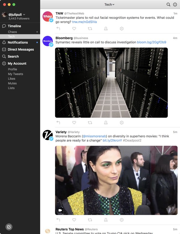 tapbots launches tweetbot 3 for mac with redesigned interface new features