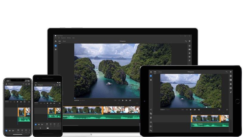 adobe unveils project rush an all in one cross device video editing app