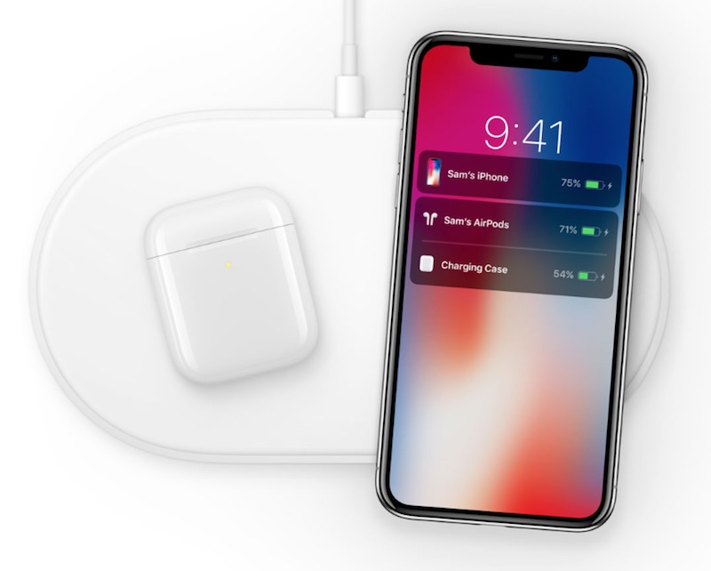 airpods wireless charging case said to work with any qi certified charging mat