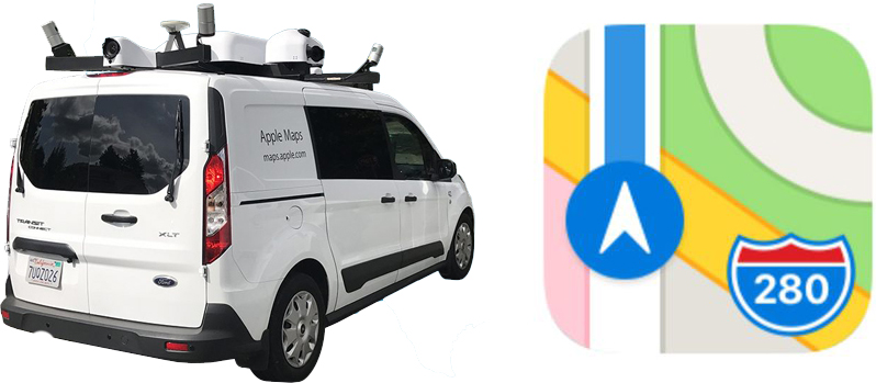 apple maps vehicles begin collecting street level data in japan